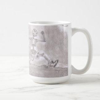 骨組マラソンのコーヒーカップ コーヒーマグカップ