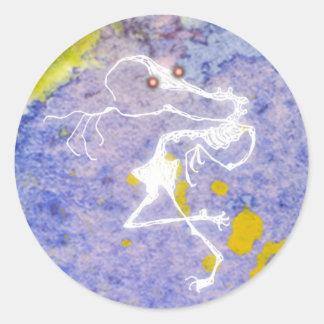 骨組幽霊 ラウンドシール