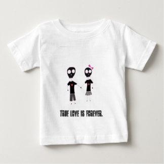 骨組愛 ベビーTシャツ