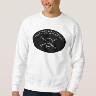骨組戦争の丸首 スウェットシャツ
