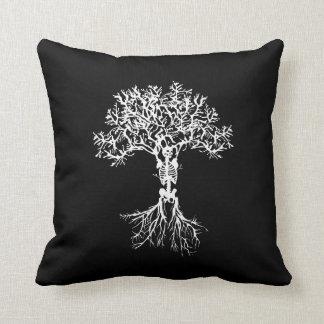 骨組木の投球の装飾の枕 クッション
