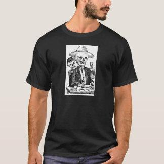骨組飲むテキーラおよび喫煙、メキシコ Tシャツ