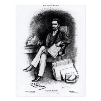 「骨董品」からのジョーゼフ・ピューリツァー、1887年 ポストカード