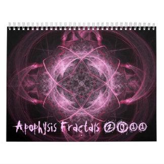 (骨)突起のフラクタル2011のカレンダー カレンダー