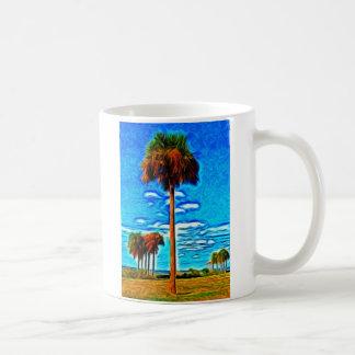 高いやしおよび青空 コーヒーマグカップ