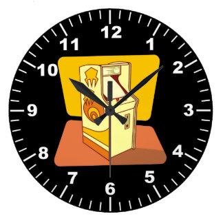 高いアーケード・ゲームコンソール ラージ壁時計