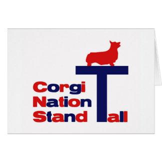 高いコーギーの国家の立場 カード