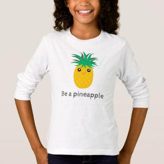 高いパイナップル立場があります甘いですがあって下さい Tシャツ