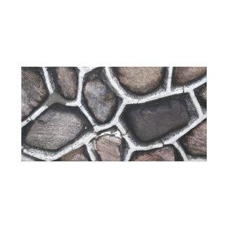 高い公園の石 キャンバスプリント