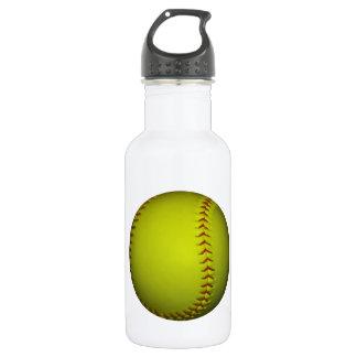 高い可視性の黄色のソフトボール ウォーターボトル