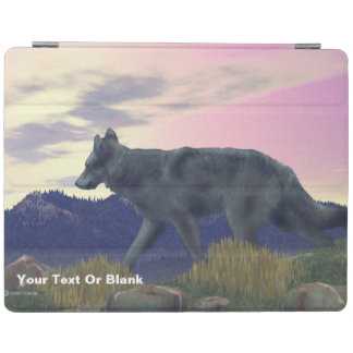 高い国のオオカミ iPadスマートカバー