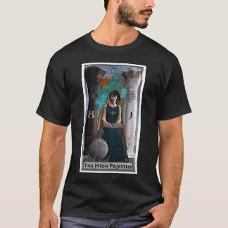 高い尼僧の暗闇のTシャツ Tシャツ
