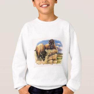 高い平野のバイソン スウェットシャツ
