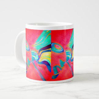 高い形成 ジャンボコーヒーマグカップ