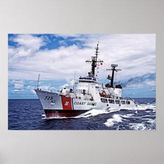 高い持久力のカッター:  USCG Jarvis ポスター