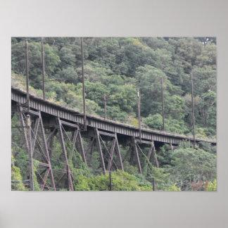 高い橋プリント、DSCF6928 ポスター
