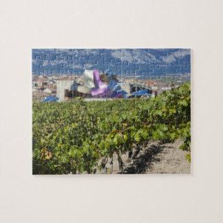高い町の眺めおよびHotel Marques de Riscal ジグソーパズル