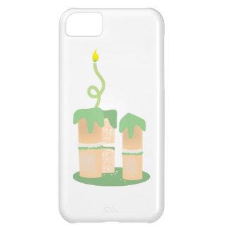 高い緑のお誕生日ケーキ iPhone5Cケース