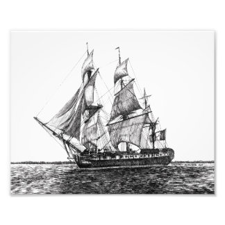 高い船のHermioneの写真のプリント フォトプリント