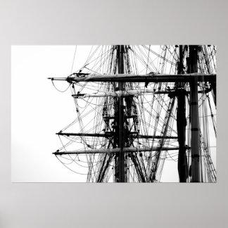 高い船 ポスター