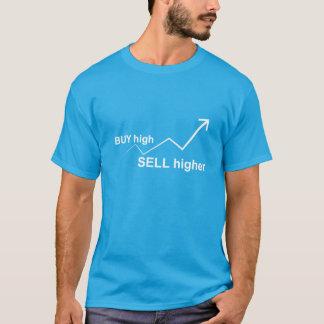 高い買物はより高く販売します Tシャツ