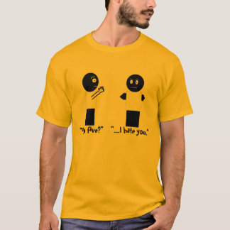 高い5か。 Tシャツ