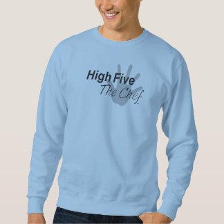 高い5シェフのワイシャツ スウェットシャツ