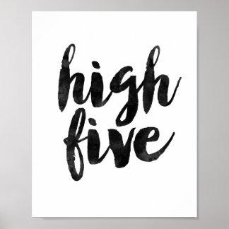 高い5 ポスター