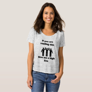 高い5 Tシャツ