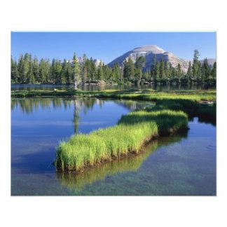 高いUINTASの荒野、UT、米国のpenisula、 フォトプリント
