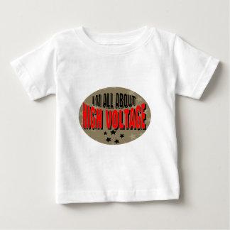 高圧電気技師 ベビーTシャツ