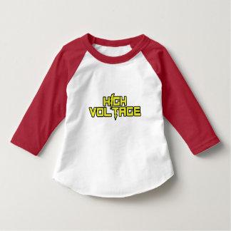高圧3/4枚のワイシャツ(赤い) Tシャツ