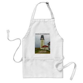 高地の灯台、ケープコッド、マサチューセッツ スタンダードエプロン