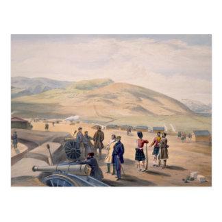 高地の組のキャンプ、「戦争の座席からのプレート ポストカード
