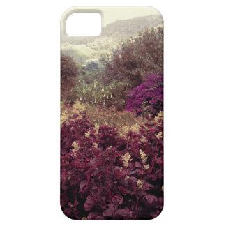 高地の野生の花 iPhone SE/5/5s ケース