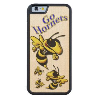 高地の高等学校のスズメバチ CarvedメープルiPhone 6バンパーケース