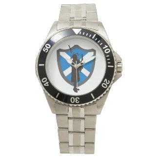 高地居住者のバグパイププレーヤーの腕時計 腕時計