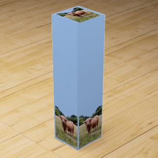 高地牛ワイン箱 ワインギフトボックス