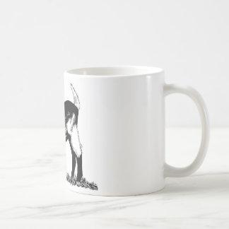 高山の子供 コーヒーマグカップ