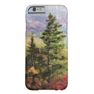 高山の木の電話箱 BARELY THERE iPhone 6 ケース