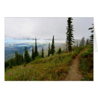 高山の道 カード