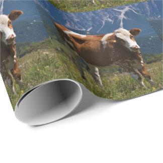 高山牛包装紙 ラッピングペーパー