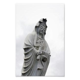 高崎のKannonの彫像 フォトプリント