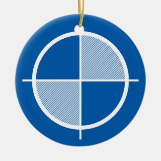 高度の記号のオーナメント(ライト) セラミックオーナメント