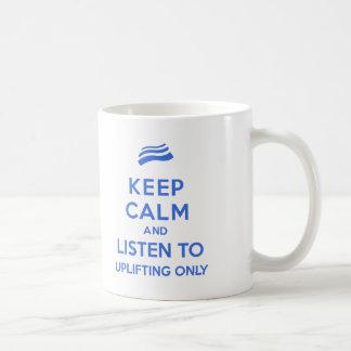高揚は穏やかなマグだけを保ちます コーヒーマグカップ