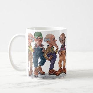 高水位のズボン コーヒーマグカップ