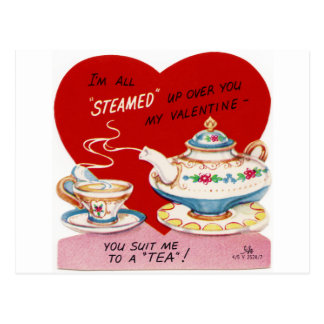 高温多湿のバレンタイン ポストカード