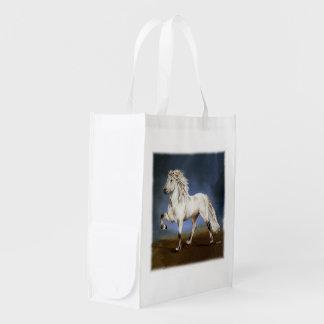 高潔の~のアイスランド人の馬 エコバッグ