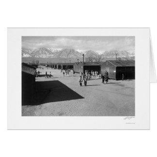 高等学校の休憩の期間1943年 カード