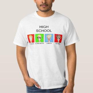 高等学校 Tシャツ